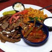 Photo taken at Paymon's Mediterranean Cafe & Hookah Lounge by Michael N. on 7/30/2011