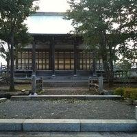 Photo taken at 勝広寺 by souchichi on 9/23/2011