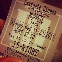 Photo taken at Marcus Eastgate Cinema by Derek G. on 11/24/2011
