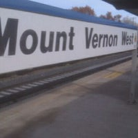Photo taken at Metro North - Mt Vernon West Train Station by Felicia A. on 11/13/2011