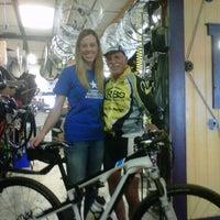 Photo taken at Rochester Bike Shop by Michele B. on 8/20/2011