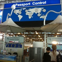Photo taken at Thai Immigration: Passport Control - Zone 3 by Witchaphun P. on 9/4/2011
