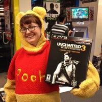 Photo taken at EB Games by Dan U. on 11/1/2011