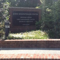 Photo taken at John Seigenthaler Center by Eric C. on 4/10/2012