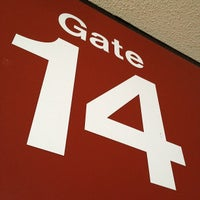 Photo taken at Gate 14 by Michael S. on 11/16/2011