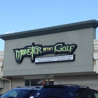Photo taken at Monster Mini Golf by Andrew A. on 6/2/2012