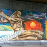 Photo taken at South San Francisco Caltrain Station by Manny D. on 4/19/2012
