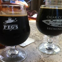 Photo taken at Peg's Cantina & Brew Pub by Al A. on 3/9/2012