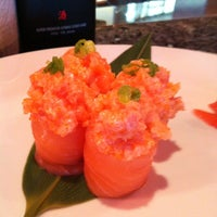 Photo taken at Amura Japanese Restaurant by Jules C. on 6/28/2012