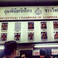 Photo taken at Lumpinee Boxing Stadium by Ruben P. on 4/6/2012