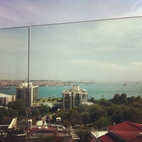 Photo taken at Hilton ParkSA Istanbul by Onuralp T. on 5/27/2012