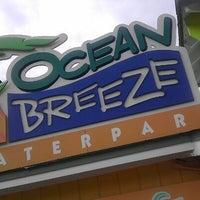 Photo taken at Ocean Breeze Waterpark by Jamal P. on 8/22/2012