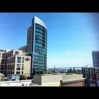 Photo taken at Hilton San Diego Gaslamp Quarter by Scott W. on 4/6/2012