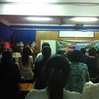 Photo taken at โรงเรียนนวมราชานุสรณ์ จ.นครนายก by Mio m. on 7/28/2012