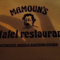 Photo taken at Mamoun's Falafel Restaurant by Zach H. on 3/26/2012