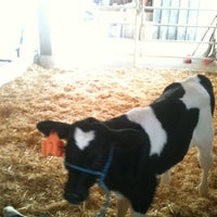Photo taken at Indiana State Fairgrounds Normandy Barn by Marc E. on 4/20/2012