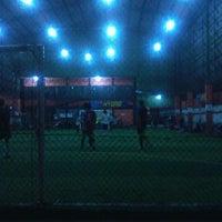 Photo taken at Score Futsal Purbalingga by bayu p. on 6/22/2012