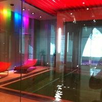 Photo taken at Dubai International Hotel by Noel B. on 6/10/2012
