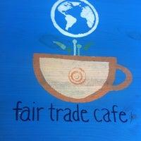 Photo taken at Fair Trade Café by Q on 4/11/2012