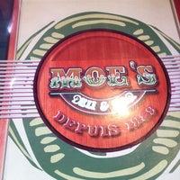 Photo taken at Moe's Deli & Bar by Alan P. on 4/28/2012