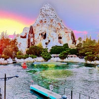 Photo taken at Matterhorn Bobsleds by Nicholas C. on 10/15/2011
