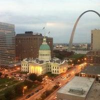 Photo taken at Hilton St. Louis at the Ballpark by Jeff H. on 10/12/2011