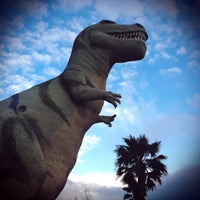 Photo taken at Cabazon Dinosaurs by Lindsay W. on 2/20/2011