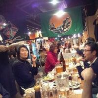 Photo taken at 四万十 by Eiji S. on 12/26/2011