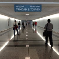Photo taken at Piarco International Airport (POS) by Platoo D. on 6/17/2012
