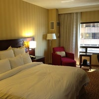 Photo taken at Marriott City Center by Justin E. on 6/30/2012