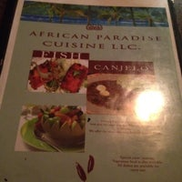 Photo taken at African Paradise Restaurant by Hakan B. on 4/17/2012