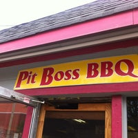 Photo taken at Pit Boss BBQ by Mike D. on 5/28/2012