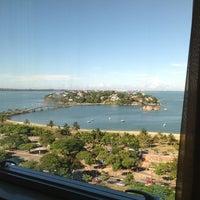 Photo taken at Radisson Hotel Vitória by Sheptorious on 4/10/2012