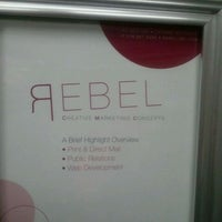 Photo taken at Rebel Creative Marketing Concepts by Courtney R. on 8/19/2011