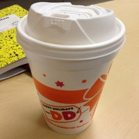Photo taken at Dunkin Donuts by Kanit B. on 12/14/2011