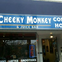 Photo taken at Cheeky Monkey Coffee by El R. on 11/26/2011
