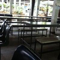 Photo taken at โรงอาหารคณะมนุษย์ฯ มข. by Mydearz d. on 10/16/2011