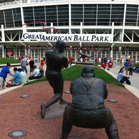 Photo taken at Great American Ball Park by Tabitha M. on 9/13/2011