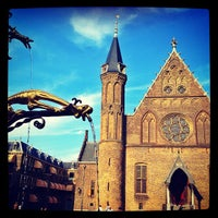 Photo taken at Ridderzaal by egor_lennon on 9/8/2012