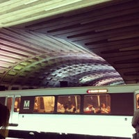 Photo taken at Metro Center Metro Station by Javier R. on 6/20/2012