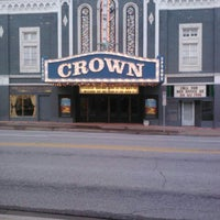 Photo taken at Crown Uptown Theatre by Luke W. on 3/22/2012
