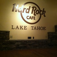 Photo taken at Hard Rock Cafe Lake Tahoe by Jennifer C. on 8/30/2011