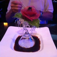 Photo taken at Saga Steakhouse & Sushi Bar by Gina C. on 7/16/2011