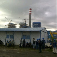 Photo taken at TJE Site Office PLTU 2 Jawa Barat by Donny d. on 1/18/2012