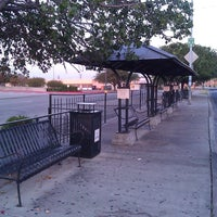 Photo taken at Bus Stop 1160 - Highland Mall Transfer Center by Mychal G. on 8/28/2011
