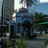 Photo taken at Parque San Telmo by Roberto S. on 3/13/2012