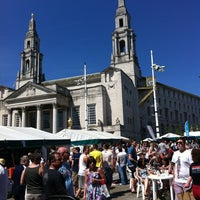 Photo taken at Millennium Square by Adam C. on 5/27/2012