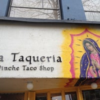 Photo taken at La Taqueria by Felice L. on 2/17/2012