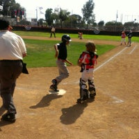 Photo taken at Huntington Valley Little League by Hector M. on 6/9/2012