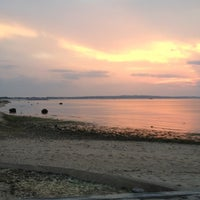 Photo taken at Crab Meadow Beach by Kelly on 7/5/2012